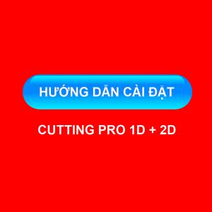 Hướng dẫn cài đặt Cutting Pro 1D + 2D
